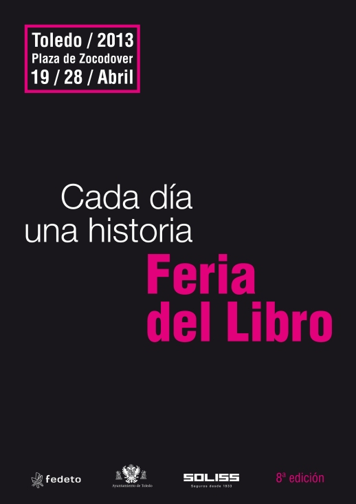 Cartel Feria del Libro de Toledo 2013