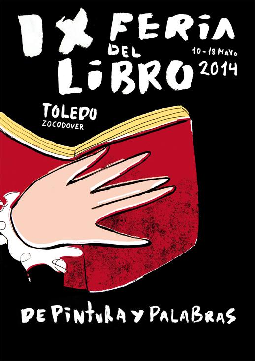 cartel feria del libro de toledo 2014